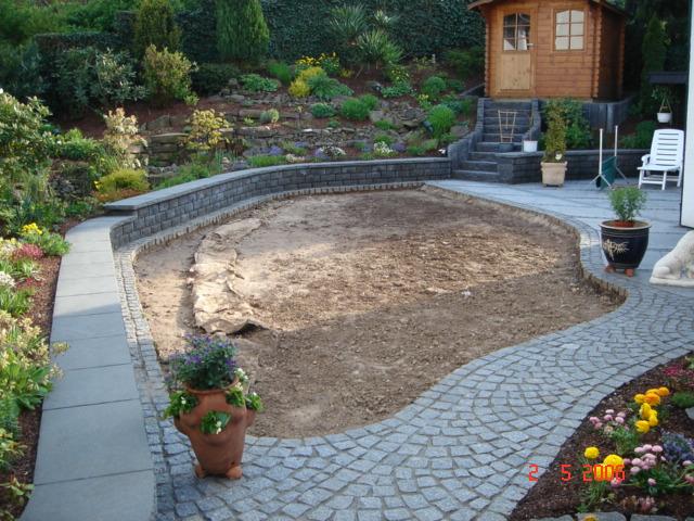 Bodenbelag Im Garten Bodenleger Com