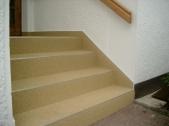 Treppe, Steinteppich 1